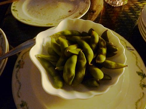 35黒豆の枝豆