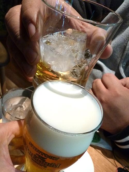 69生ビール580オールドロック550