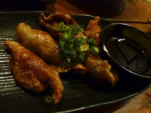 12鶏皮餃子450