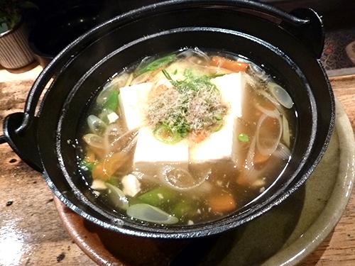 22湯豆腐柚子こしょうあんかけ500