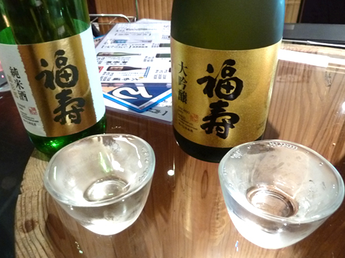 16福寿純米酒御影郷大吟醸