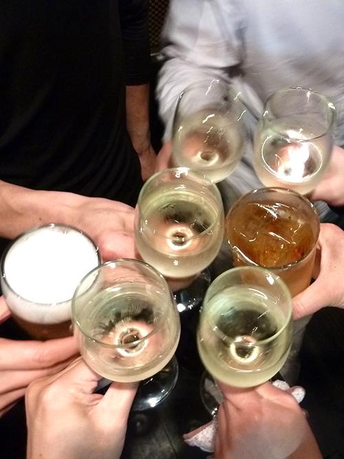 63生ビール白ワイン