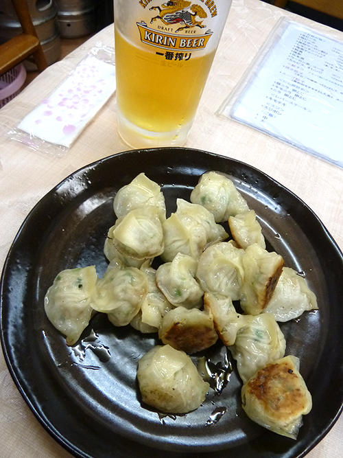75ビール餃子