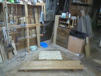 あてばん 木工作業台