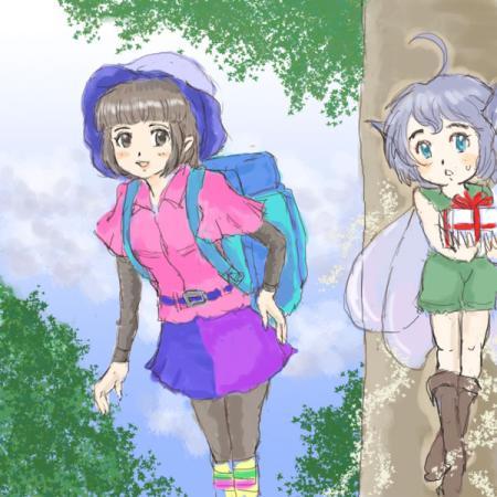 山ガールと妖精ボーイ
