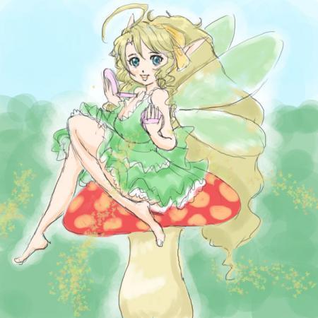 お化粧妖精