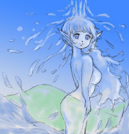青のオンディーヌ