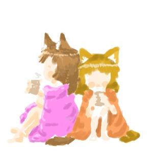にゃんこ湯上りコーヒー牛乳4