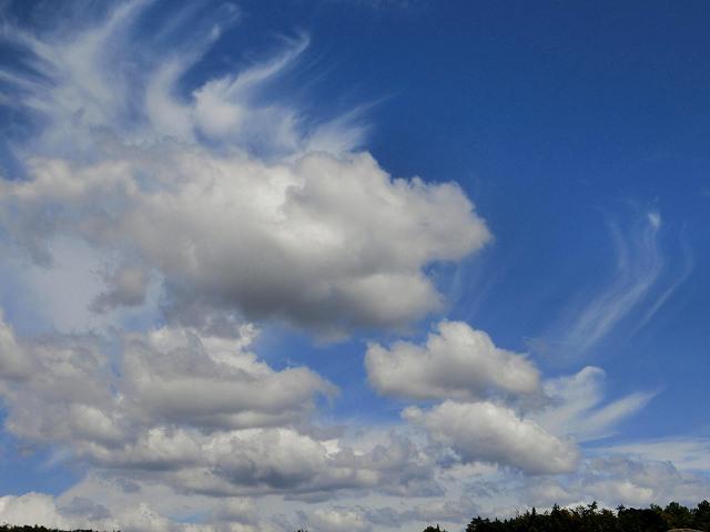 龍の様な雲