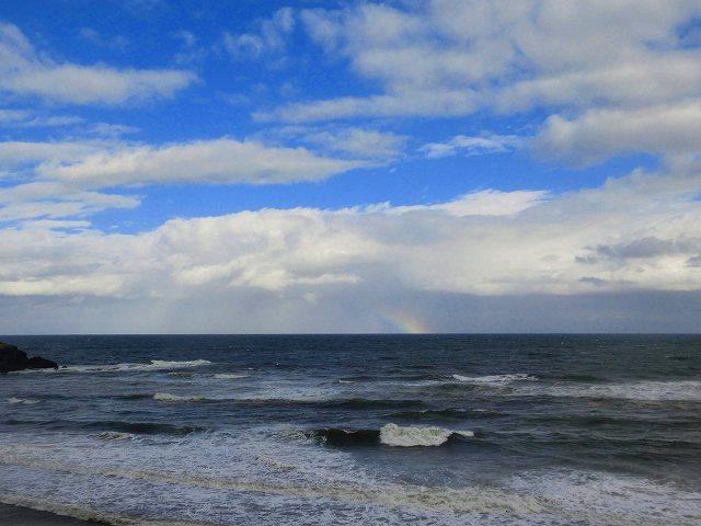 白兎海岸の虹2