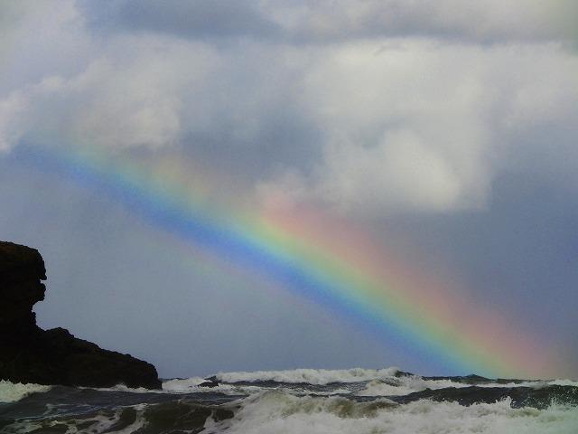 白兎海岸の虹6