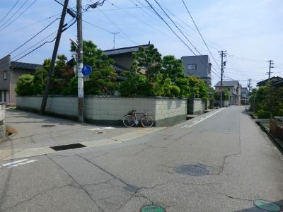 直進→新湊 左折→伏木