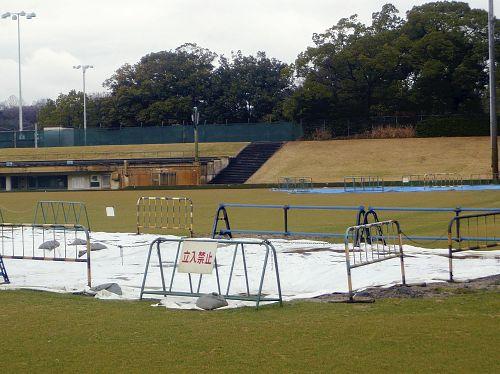 ガンバ新スタジアム予定地の地下に弾薬庫跡?工期に影響か