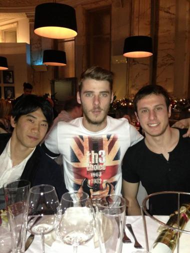 【画像あり】香川、仲の良い選手は「ウェルべック、デ・ヘア、ビュットネル」