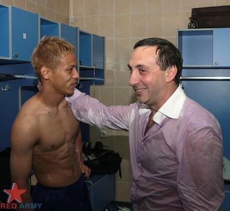 CSKA会長 本田△の移籍交渉、強豪のみOK