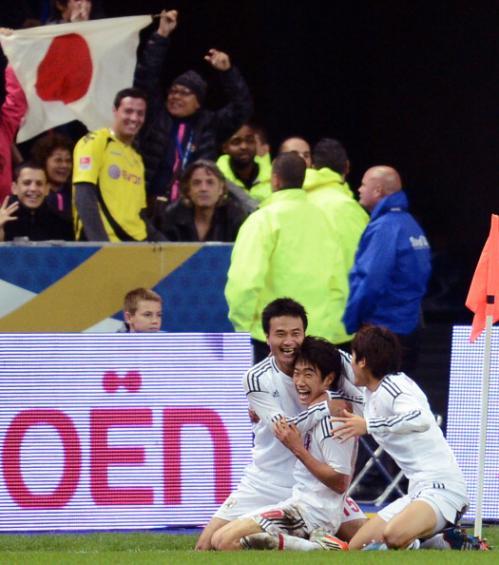 香川のゴールをドルトムントサポーターが見ていた!