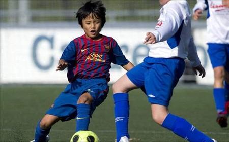 バルセロナ、下部組織の昨年の得点50選を紹介 11歳久保くんも