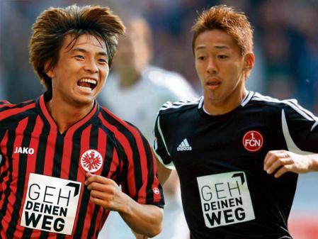 乾と清武が前半戦で活躍した各クラブの選手1名に選出される 独誌