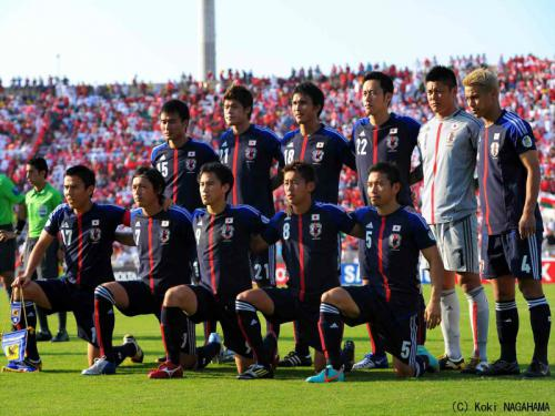 アジア最終予選ヨルダン戦は日本の夜11時キックオフ!