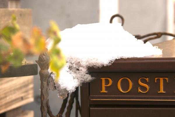 雪&ポスト