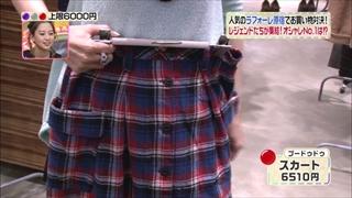 森口博子、プードゥドゥ、スカート