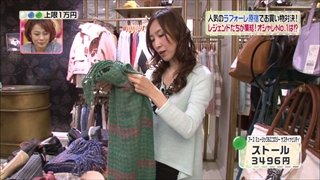 森口博子、アースミュージック&エコロジー サスティナビリティ、ストール