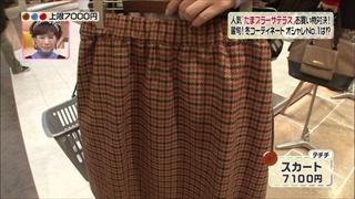 福田沙紀、テチチ、スカート