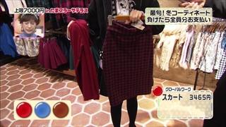 グローバルワーク、スカート
