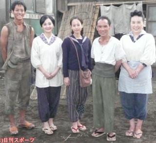 松坂桃李、南果歩、堀北真希、片岡鶴太郎、大島蓉子