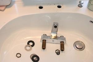 洗面水道工事