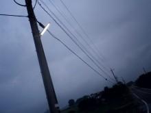 さなとりぅむ-夜明け前街頭点灯中