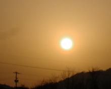 さなとりぅむ-目玉焼きみたいな朝の太陽