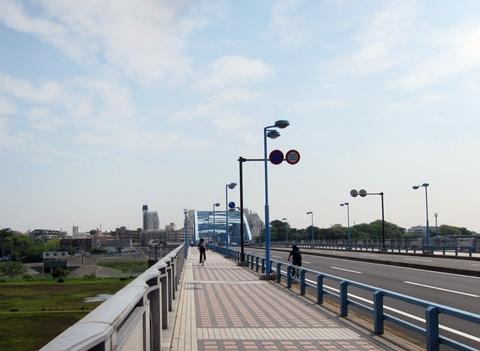 中原街道丸子橋