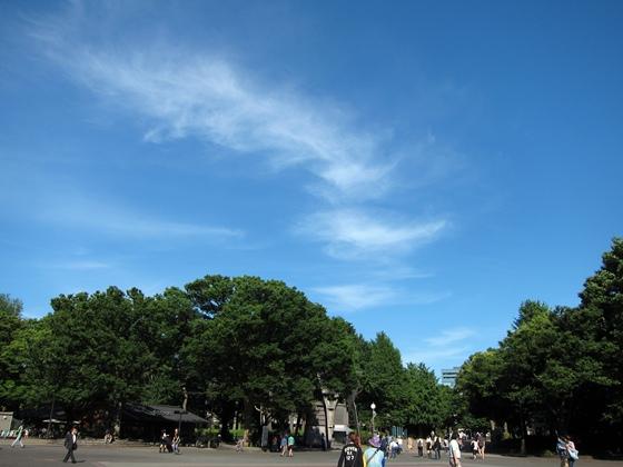 上野公園と空