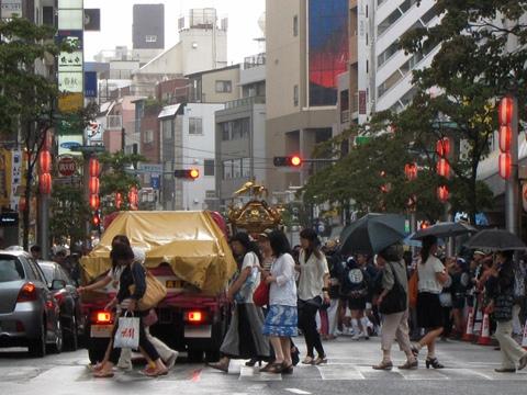 渋谷のお祭り