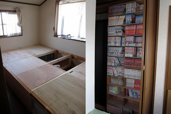 部屋と本棚