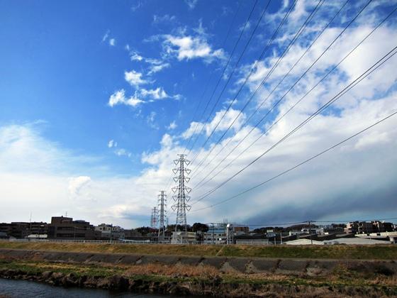 冬の鶴見川