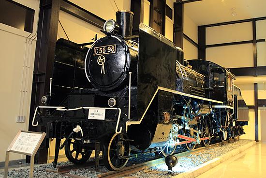 嵯峨野19世紀ホールの保存車