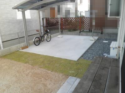 サイクルポート芝