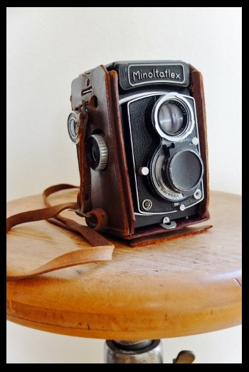 アナログカメラ。
