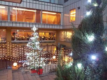 ホテル国際21クリスマスツリー