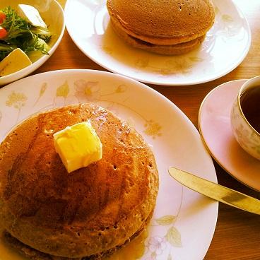 小麦胚芽のパンケーキ