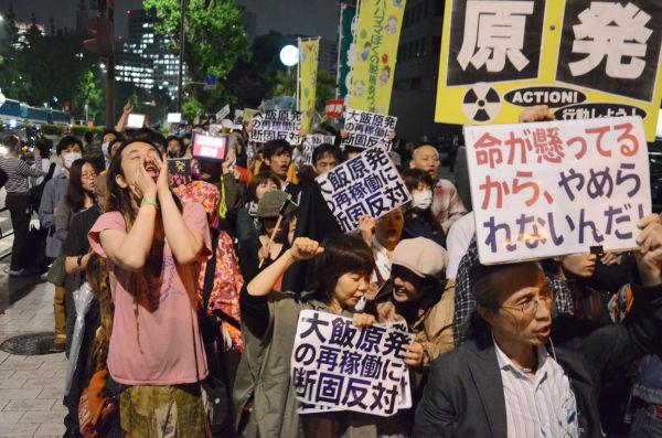 2012年6月1日 怒りの2700人 反原発 首相官邸前