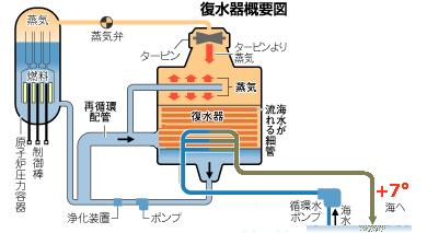 原発は海温め装置