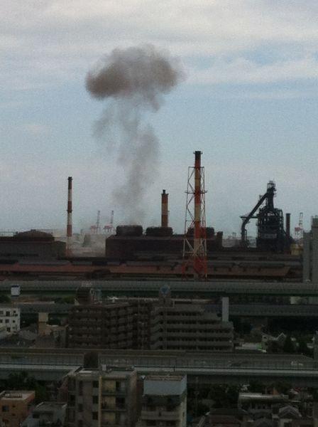 神戸製鋼 爆発