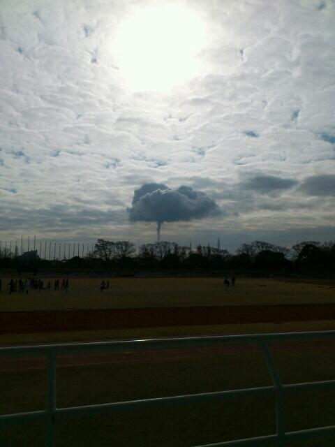 1月のきのこ雲 1