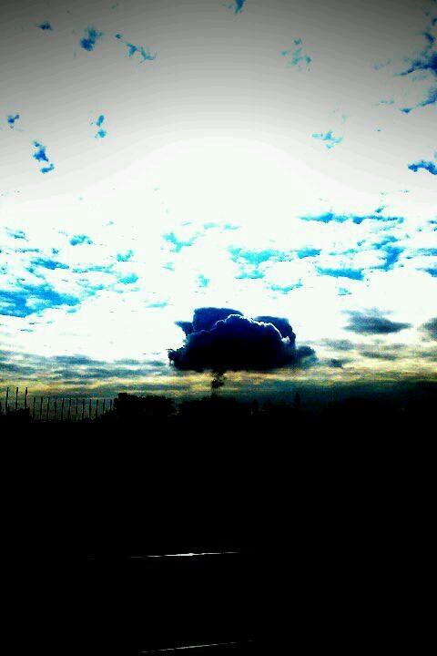 1月のきのこ雲 3