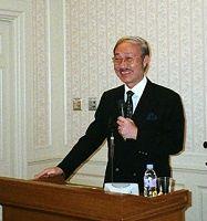 ↑㊤公益財団法人「日本生態系協会」の池谷奉文会長