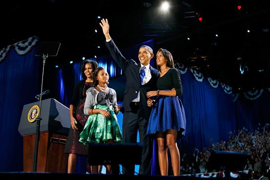 オバマ 勝利