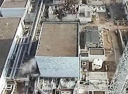 福島原発2号機 航空写真